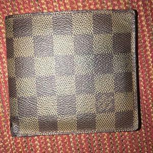 Louis Vuitton Men's Damier Wallet